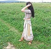 - jelene v jeseni -vlnená sukňa - 4440108_