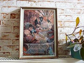 Obrázky - Vintage obraz Biscuits language - 4440016_