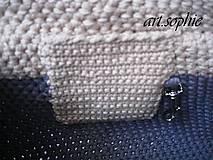 Iné tašky - VÝPREDAJ... pure nature/Dvojfarebka v bavlne... - 4438982_