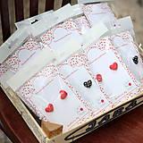 Náušnice - Funky hearts - náušky zapichovačky cena za jeden pár - 4439606_