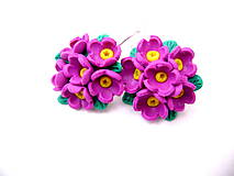 Náušnice - Fresh flowers - 4440084_