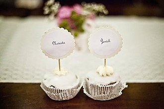 Papiernictvo - Svadobné menovky - 4442842_
