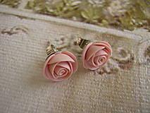 Náušnice - Mini Ruže - 4442121_