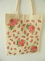 - ekotaška - ružová záplava kvetov - 4447721_