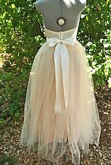 Sukne - sukňa na stužkovú  - 4445477_