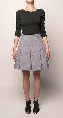 Sukne - Skladaná sukňa - 4451555_