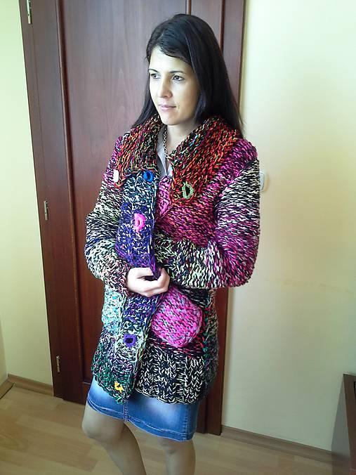 8aa9e3a952062 Pletený sveter / vviera - SAShE.sk - Handmade Svetre/Pulóvre