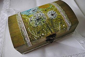 Krabičky - Krabička na šperky - 4449772_