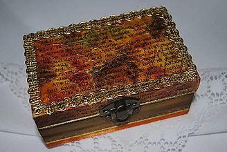 Krabičky - Krabička na šperky - 4449986_