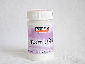 Farby-laky - Lak matný, 100 ml - 4450026_