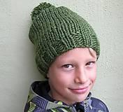 Detské čiapky - kuLich brmbolcový - 4450998_