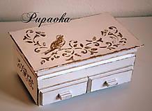 Krabičky - Šepot vtáčika folková - 4447857_