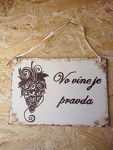 Tabuľky - vínečko víno - 4451335_