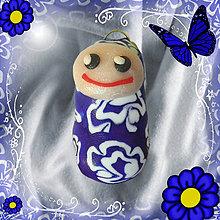 Kľúčenky - Kukulienka - modrá - 4447928_
