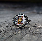 Prstene - Citrine ring II - 4455368_