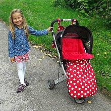 Detské súpravy - Fusakodeka - muchotrávková - 4456167_