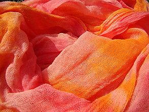 Šály - OranžPink - 4454402_