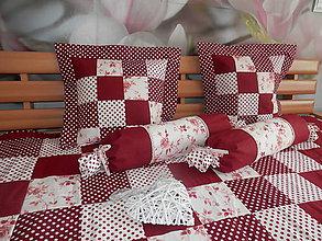Úžitkový textil - Valec bordo - 4453122_