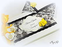 Papiernictvo - Svadobná kolekcia: Glamour na hrade - 4455192_