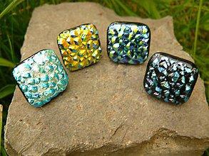 Šperky - Manžetky Vrcholky hôr 1-4 - 4459247_