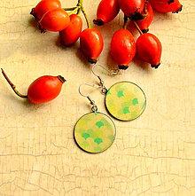 Náušnice - Mints  - náušnice průměr 25 mm - 4459050_