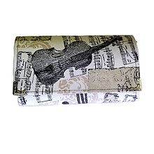 Peňaženky - peněženka Miss Music 2 - 4459848_