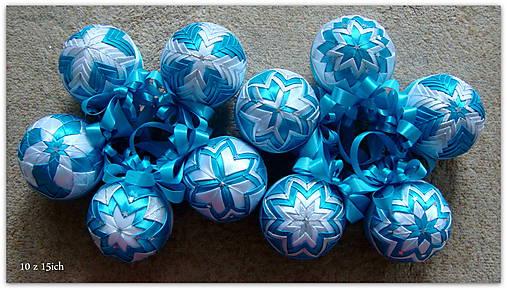 39c9885de Vianočné dekorácie - patchwork gule / lilu23 - SAShE.sk - Handmade