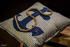 """Úžitkový textil - Vankúšik """"Nautical style"""" - 4461503_"""