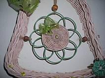 Dekorácie - zelená pani - 4464848_
