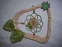 Dekorácie - zelená pani - 4464849_