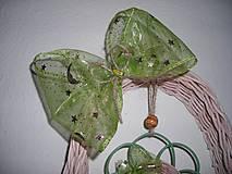 Dekorácie - zelená pani - 4464850_