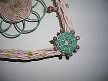 Dekorácie - zelená pani - 4464851_