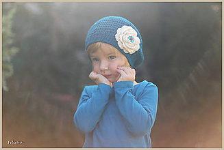Detské čiapky - zasnená... - 4462097_