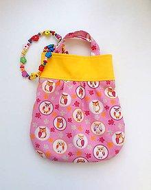 Detské tašky - sovičková - 4465334_
