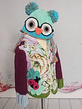 Detské oblečenie - Fialovotyrkysový outfit - 4466755_