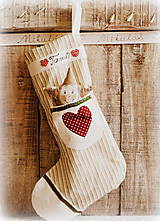 Dekorácie - Mikulášová čižmička - 4465447_