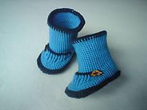 Topánočky - 2 v 1-papučky a čižmičky s autíčkom - 4465469_