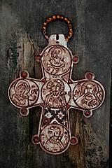 Dekorácie - Stredoveký kríž Dánsko - 4469692_