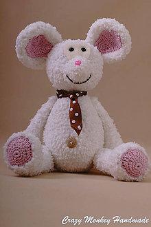 Návody a literatúra - Myšiak kravaťák - 27 cm - NÁVOD - 4470685_