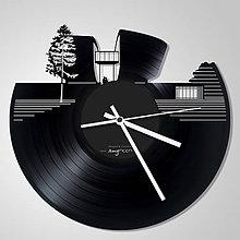 Hodiny - Pamätník SNP, Banská Bystrica - vinylové hodiny na LP - 4470908_