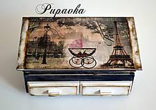 Dekorácie - Okolo sveta -Paríž II. - 4469831_