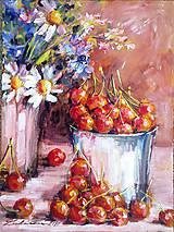 - Zátišie s čerešňami - 4469368_
