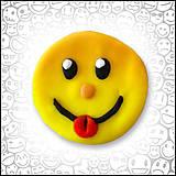 Magnetky - Smajlík s vyplazeným jazykom - magnetka - 4468583_