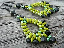 Náušnice - Náušnice Zelené Slzy katedrály - 4473102_