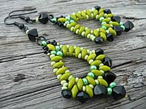 Náušnice - Náušnice Zelené Slzy katedrály - 4473104_