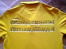 Tričká - Pesnička na tričku :) - 4471570_