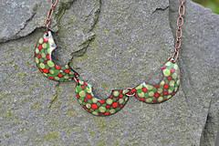 Náhrdelníky - houpačky pestré - 4472457_