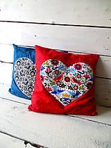 Úžitkový textil - RedFOLK - obliečka na vankúš - 4476148_