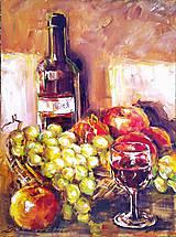 Obrazy - In vino veritas - 4477731_