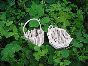Dekorácie - Miniatúrne košíky - 4476300_